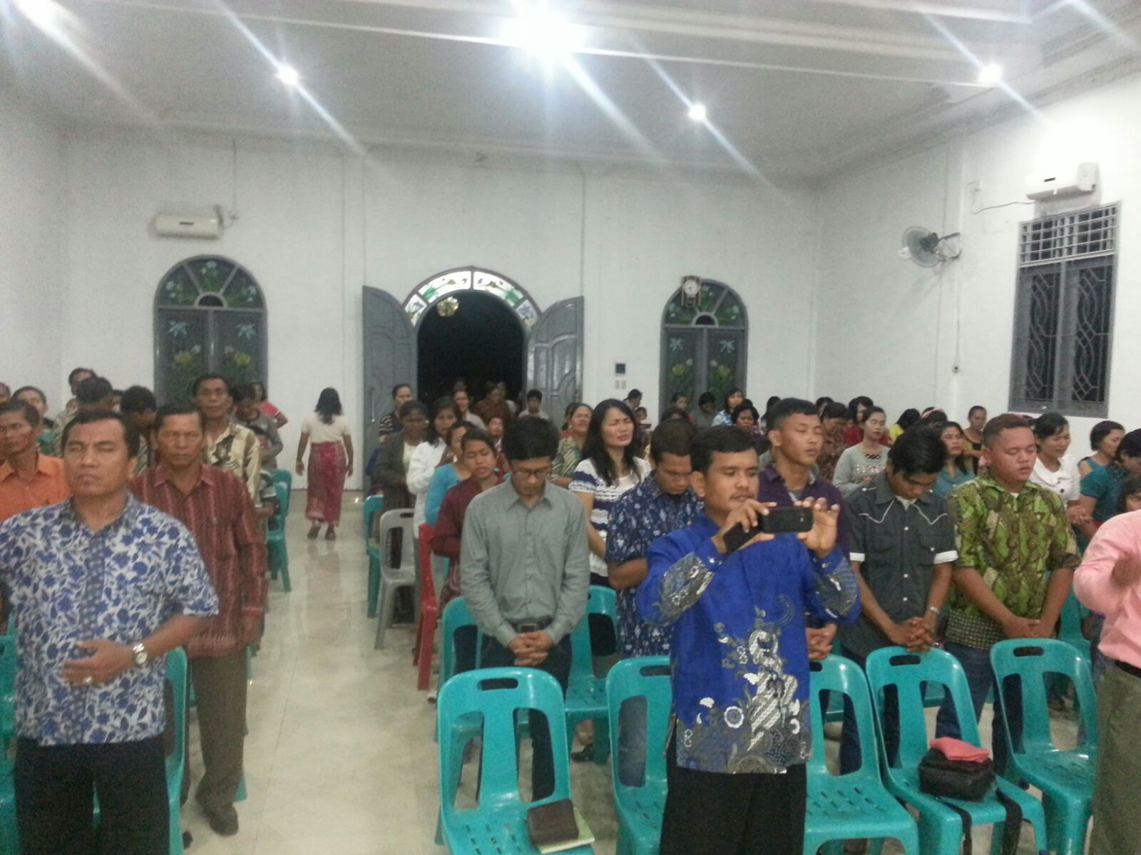 Revival meeting in another town 28 Sept 2015
